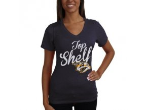 Tričko Nashville Predators Shelf Tri-Blend - dámské