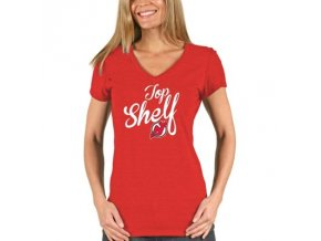Tričko New Jersey Devils Shelf Tri-Blend - dámské