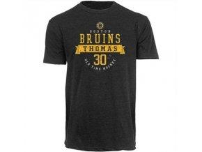 Tričko Tim Thomas #30 Boston Bruins Wesker Tri-Blend
