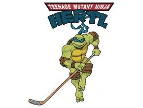 Tričko Tomáš Hertl  NINJA HERTL  San Jose Sharks - dlouhý rukáv