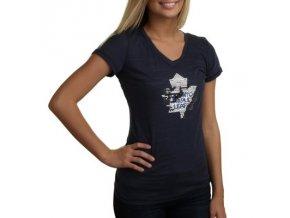 Tričko Toronto Maple Leafs Sequin Logo - dámské