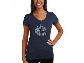 Tričko Vancouver Canucks Sequin Logo - dámské