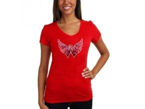 Tričko Washington Capitals Sequin Logo - dámské