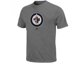 Tričko Winnipeg Jets Primary Logo Steel