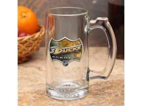 Třetinková sklenice Anaheim Ducks 3D Enhanced Sports