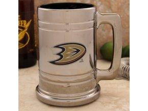 Třetinková sklenice Anaheim Ducks Chrome