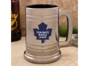 Třetinková sklenice Toronto Maple Leafs Chrome