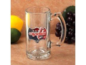 Třetinková sklenice Washington Capitals 3D Enhanced Sports