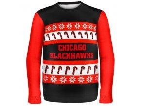 Svetr Chicago Blackhawks Ugly