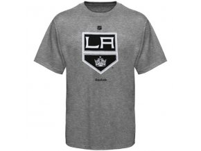 Tričko - Primary Logo - Los Angeles Kings - šedé
