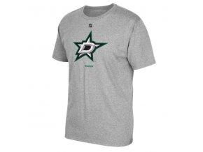 NHL tričko - Dallas Stars - Primary Logo - šedé