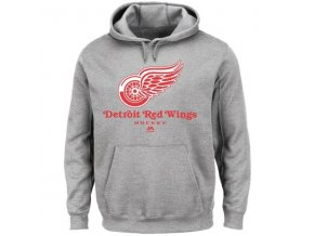 Mikina - Detroit Red Wings - Critical Victory - VIII - šedá