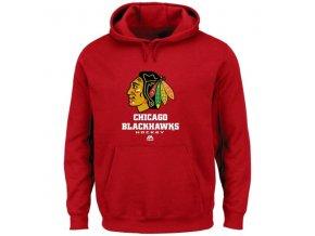 Mikina - Chicago Blackhawks  - Critical Victory - VIII - červená