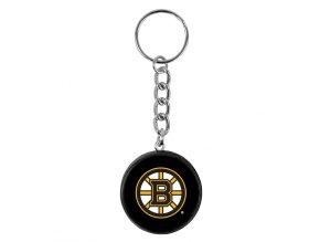 NHL přívěšek na klíče - Boston Bruins - minipuk