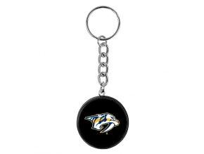 NHL přívěšek na klíče - Nashville Predators - minipuk
