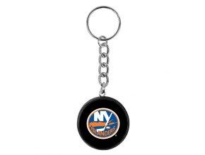 NHL přívěšek na klíče - New York Islanders - minipuk