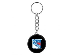 NHL přívěšek na klíče - New York Rangers - minipuk