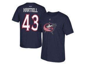 Tričko Scott Hartnell #43 Columbus Blue Jackets