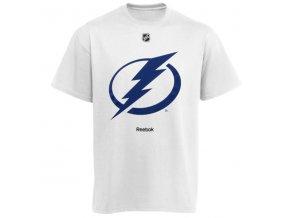 Tričko - Primary Logo - Tampa Bay Lightning - bílé
