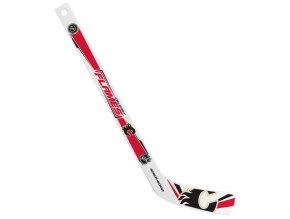Plastiková minihokejka Calgary Flames Sher-wood - hráčská