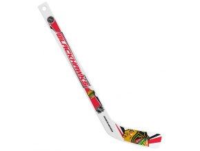 Plastiková minihokejka Chicago Blackhawks Sher-wood - hráčská