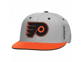 Kšiltovka Philadelphia Flyers Center Ice Snapback