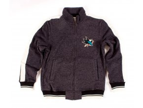 Mikina San Jose Sharks CCM Track Jacket 15