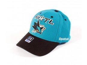 Kšiltovka San Jose Sharks Structured Flex 15 - Tomáš Hertl #48