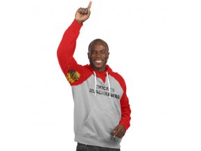 Mikina Chicago Blackhawks Hands High Pullover Hoodie