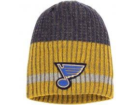 Zimní čepice St. Louis Blues Reebok Face-Off Heathered Knit Beanie