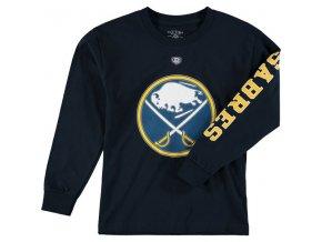 Dětské tričko Buffalo Sabres Old Time Hockey Two Hit Long Sleeve