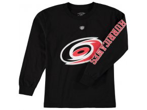 Dětské tričko Carolina Hurricanes Old Time Hockey Two Hit Long Sleeve