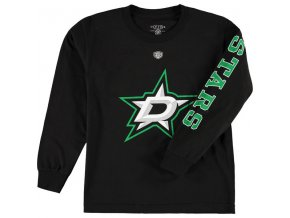 Dětské tričko Dallas Stars Old Time Hockey Two Hit Long Sleeve