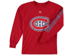 Dětské tričko Montreal Canadiens Old Time Hockey Two Hit Long Sleeve