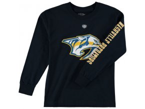 Dětské tričko Nashville Predators Old Time Hockey Two Hit Long Sleeve
