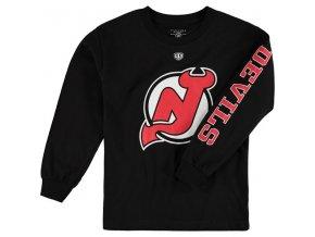 Dětské tričko New Jersey Devils Old Time Hockey Two Hit Long Sleeve