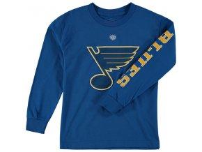Dětské tričko St. Louis Blues Old Time Hockey Two Hit Long Sleeve