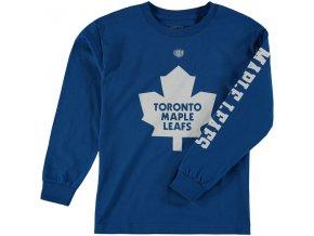Dětské tričko Toronto Maple Leafs Old Time Hockey Two Hit Long Sleeve