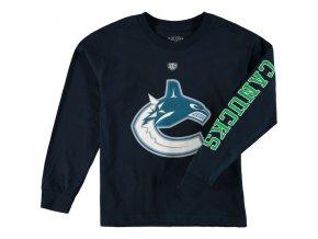 Dětské tričko Vancouver Canucks Old Time Hockey Two Hit Long Sleeve
