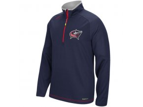 Mikina Columbus Blue Jackets Center Ice Baselayer 1/4 zip 15
