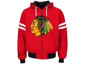 Mikina Chicago Blackhawks Carl Banks Legend Reversible Hoodie