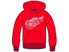 Mikina Detroit Red Wings Majestic Bember Hoody