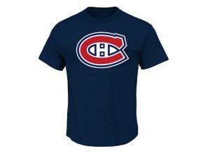 Dětské Tričko Montreal Canadiens Majestic Rotal Logo Tee