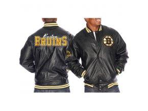 Bunda - Faux Leather - Boston Bruins