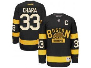 Dres Zdeno Chára #33 Boston Bruins Premier Jersey 2016 NHL Winter Classic
