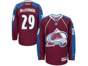 Dres Nathan MacKinnon #29 Colorado Avalanche Premier Jersey Home