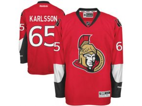 Dres Erik Karlsson #65 Ottawa Senators Premier Jersey Home