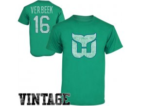 Tričko #16 Pat Verbeek Hartford Whalers Legenda NHL