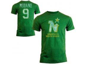 Tričko #9 Mike Modano Minnesota North Stars Legenda NHL