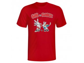 bobek tričko red